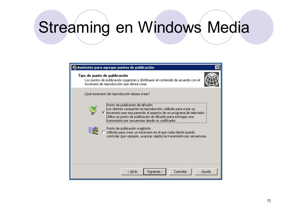 Streaming en Windows Media