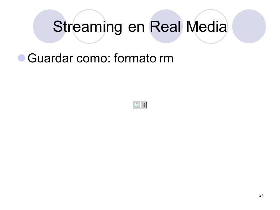 Streaming en Real Media