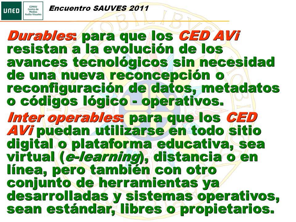 Encuentro SAUVES 2011