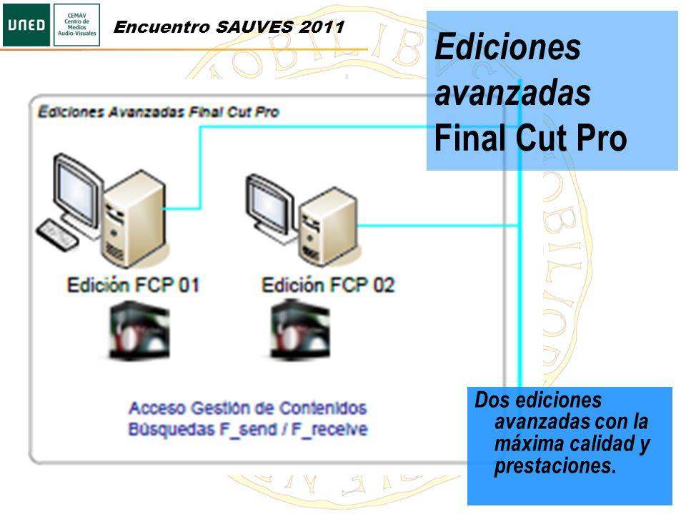 Ediciones avanzadas Final Cut Pro