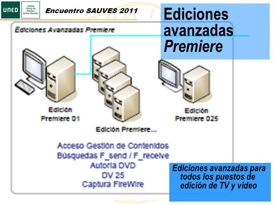 Ediciones avanzadas Premiere