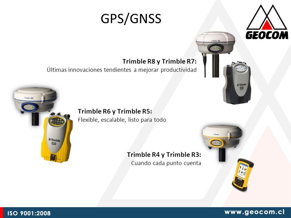 GPS/GNSS Trimble R8 y Trimble R7: Últimas innovaciones tendientes a mejorar productividad.