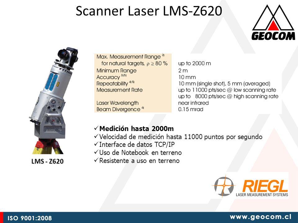 Scanner Laser LMS-Z620 LMS - Z620 Medición hasta 2000m