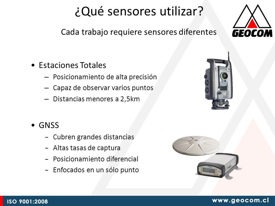 ¿Qué sensores utilizar