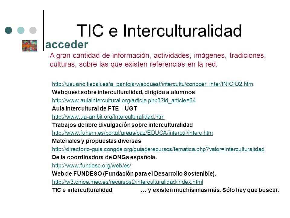 TIC e Interculturalidad