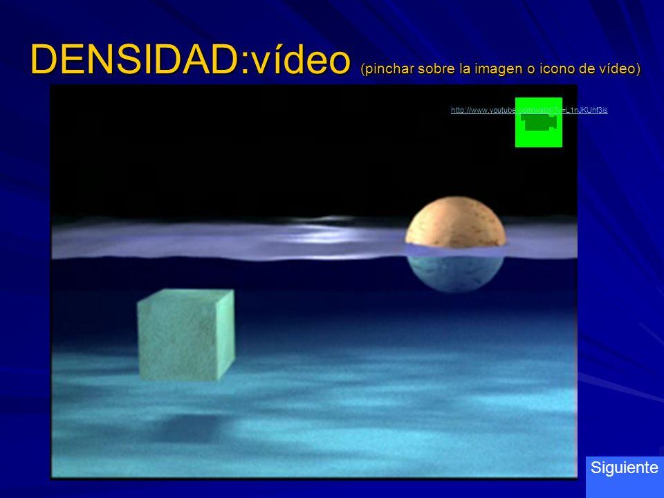 DENSIDAD:vídeo (pinchar sobre la imagen o icono de vídeo)