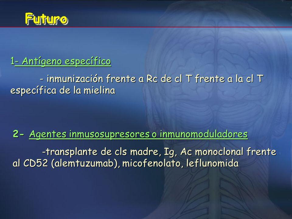Futuro 1- Antígeno específico