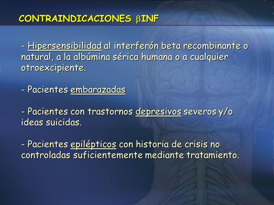 CONTRAINDICACIONES INF