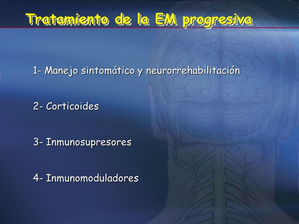 Tratamiento de la EM progresiva