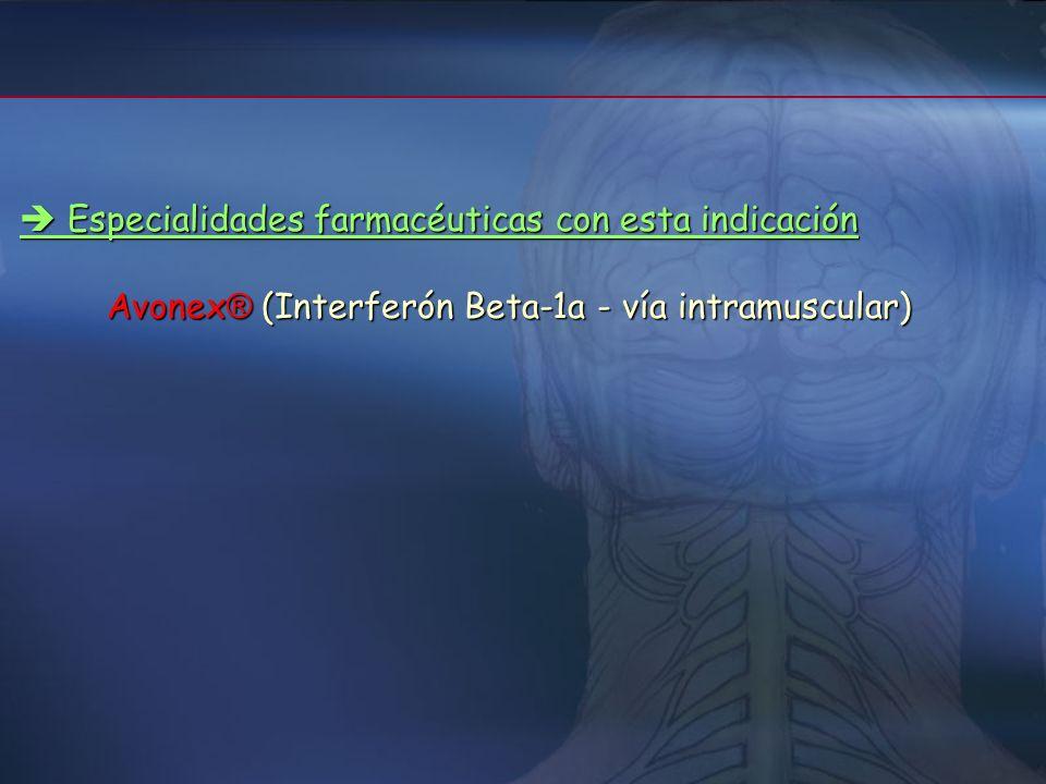  Especialidades farmacéuticas con esta indicación