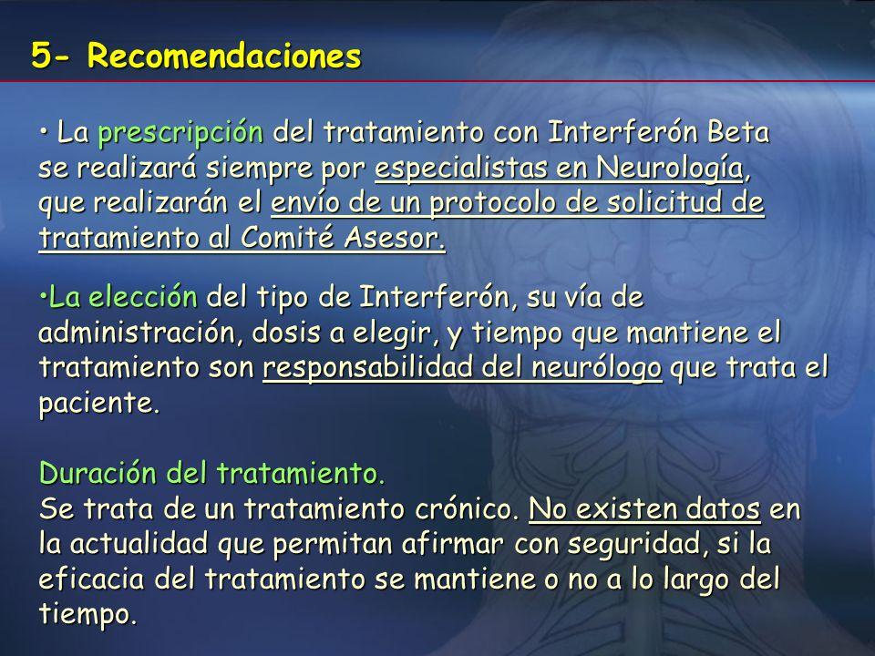 5- Recomendaciones