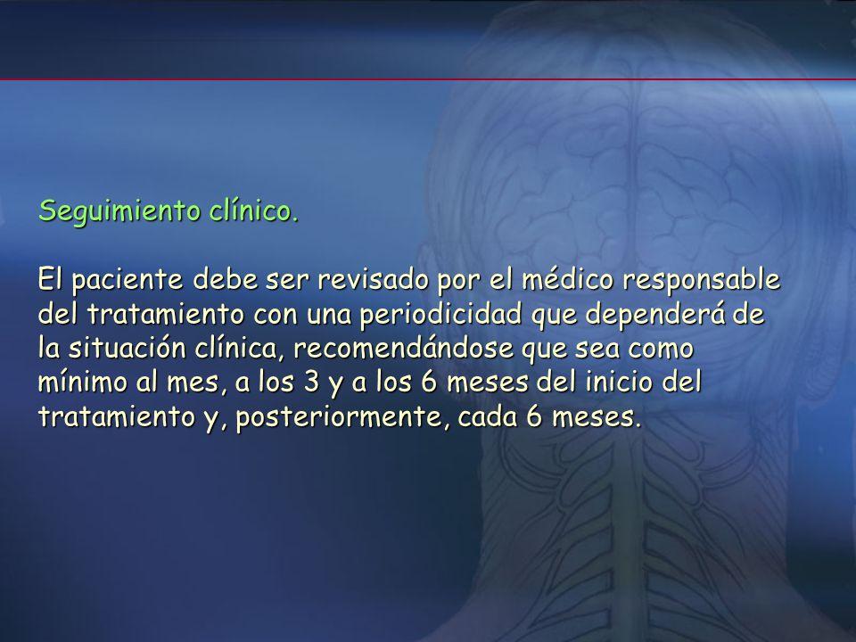 Seguimiento clínico.