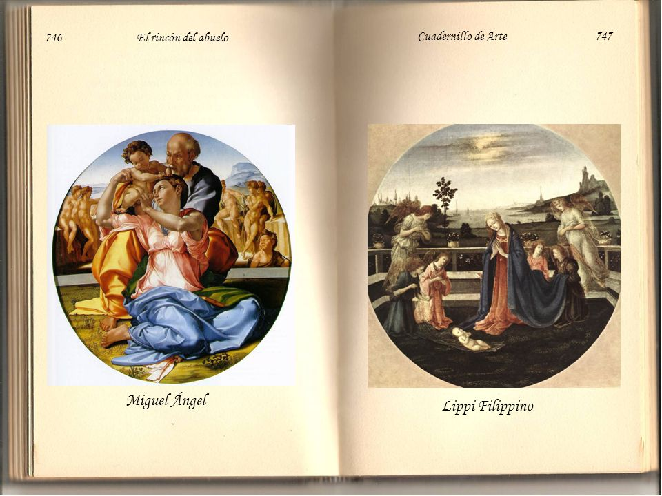 Miguel Ángel Lippi Filippino 746 El rincón del abuelo