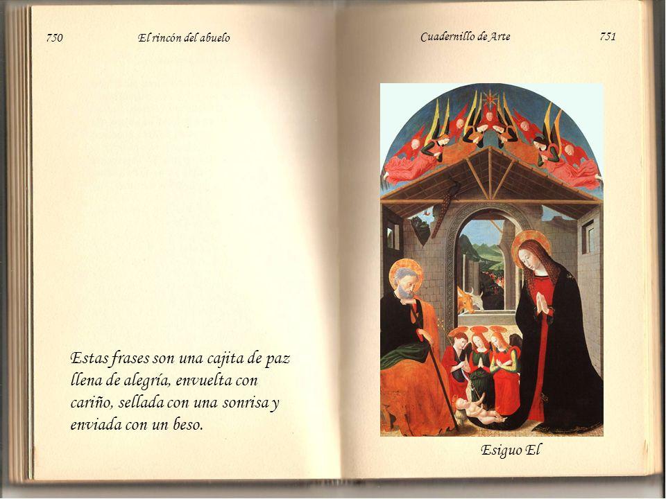 750 El rincón del abuelo Cuadernillo de Arte 751.