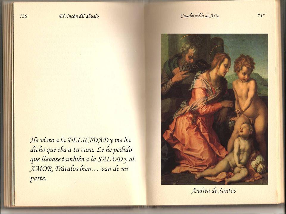 736 El rincón del abuelo Cuadernillo de Arte 737.