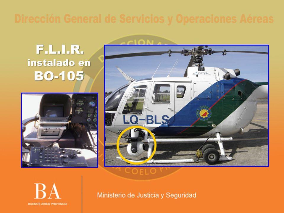 F.L.I.R. instalado en BO-105 29