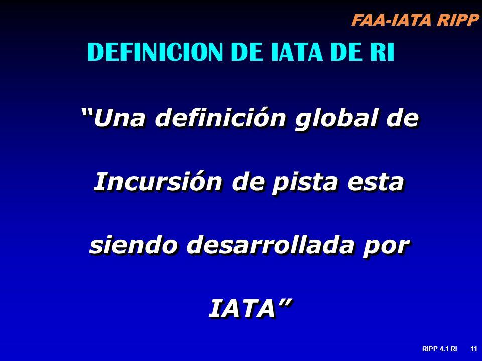 DEFINICION DE IATA DE RI
