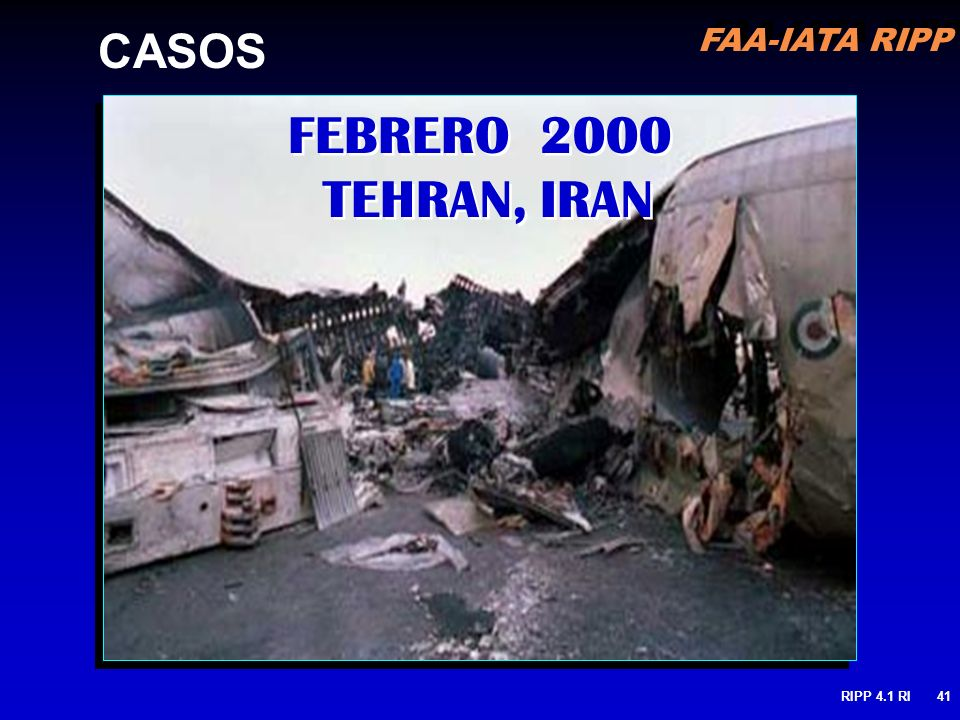 FEBRERO 2000 TEHRAN, IRAN CASOS
