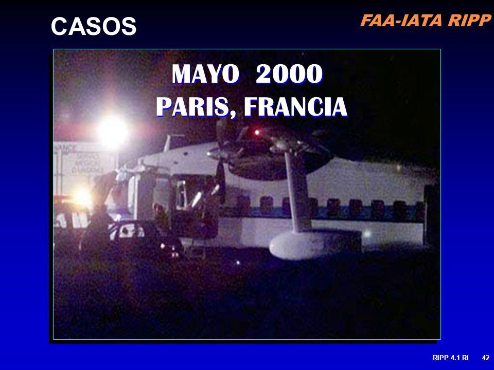 MAYO 2000 PARIS, FRANCIA CASOS