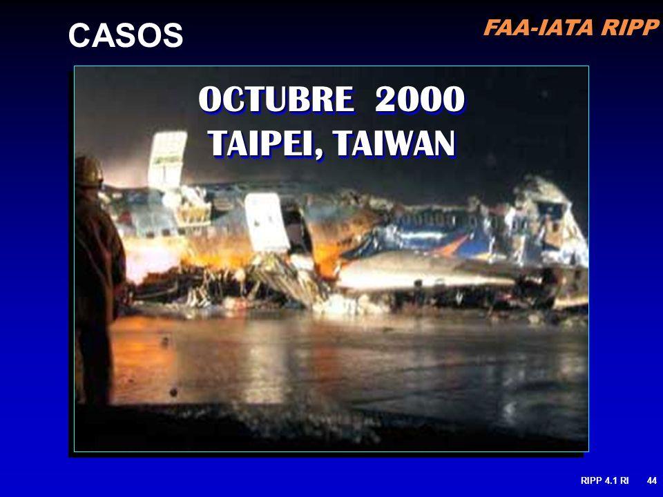 OCTUBRE 2000 TAIPEI, TAIWAN CASOS