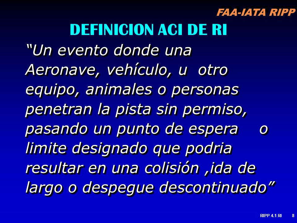 DEFINICION ACI DE RI