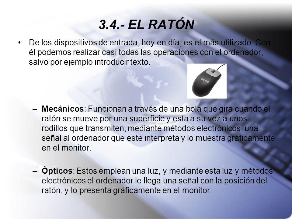3.4.- EL RATÓN