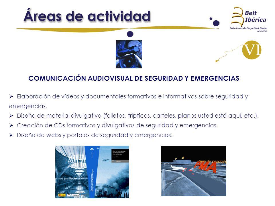 COMUNICACIÓN AUDIOVISUAL DE SEGURIDAD Y EMERGENCIAS