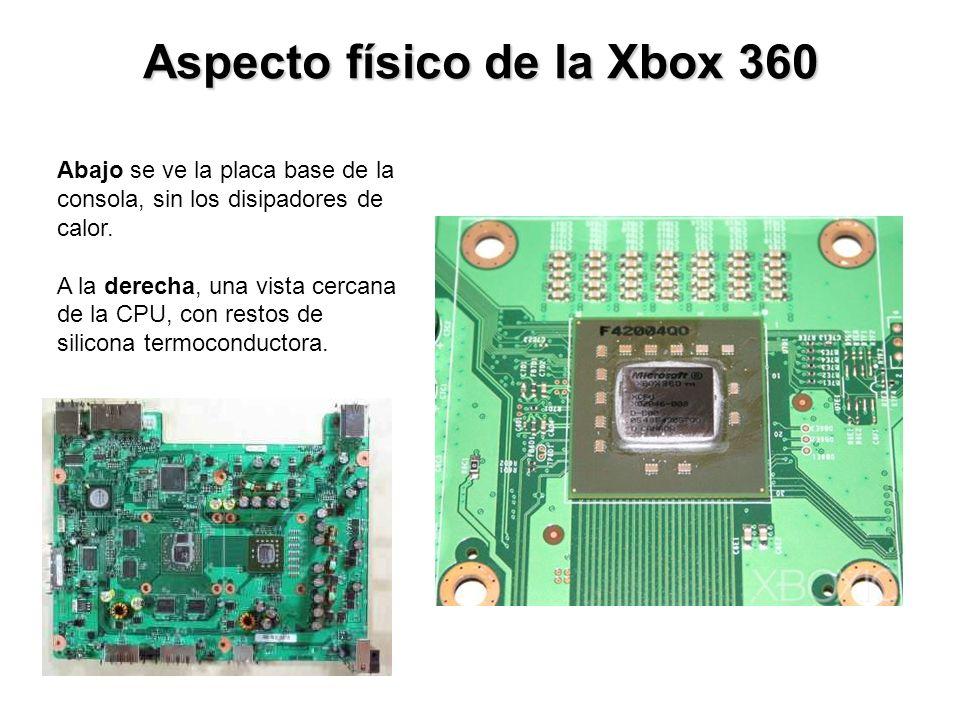 Aspecto físico de la Xbox 360