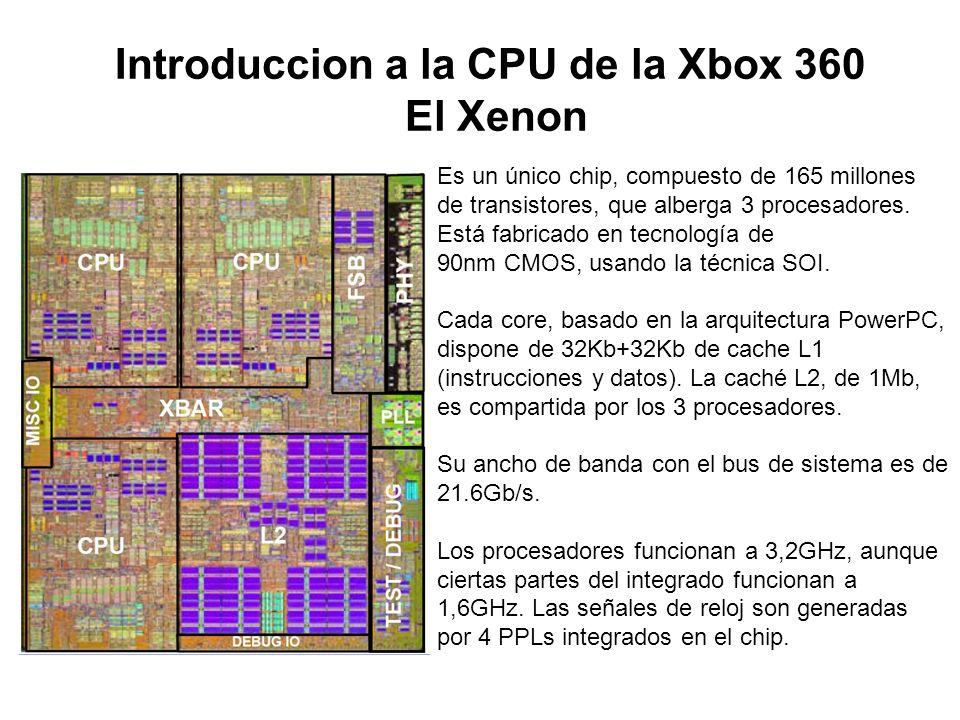 Introduccion a la CPU de la Xbox 360 El Xenon