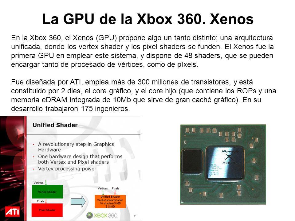 La GPU de la Xbox 360. Xenos