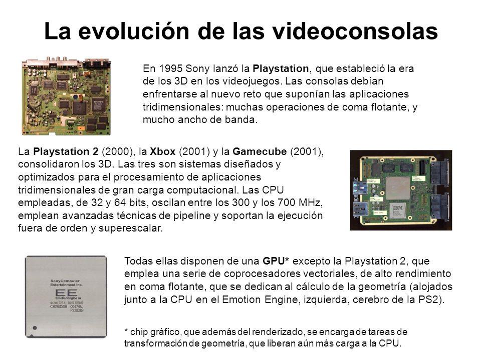 La evolución de las videoconsolas