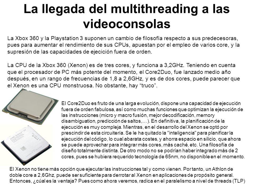 La llegada del multithreading a las videoconsolas