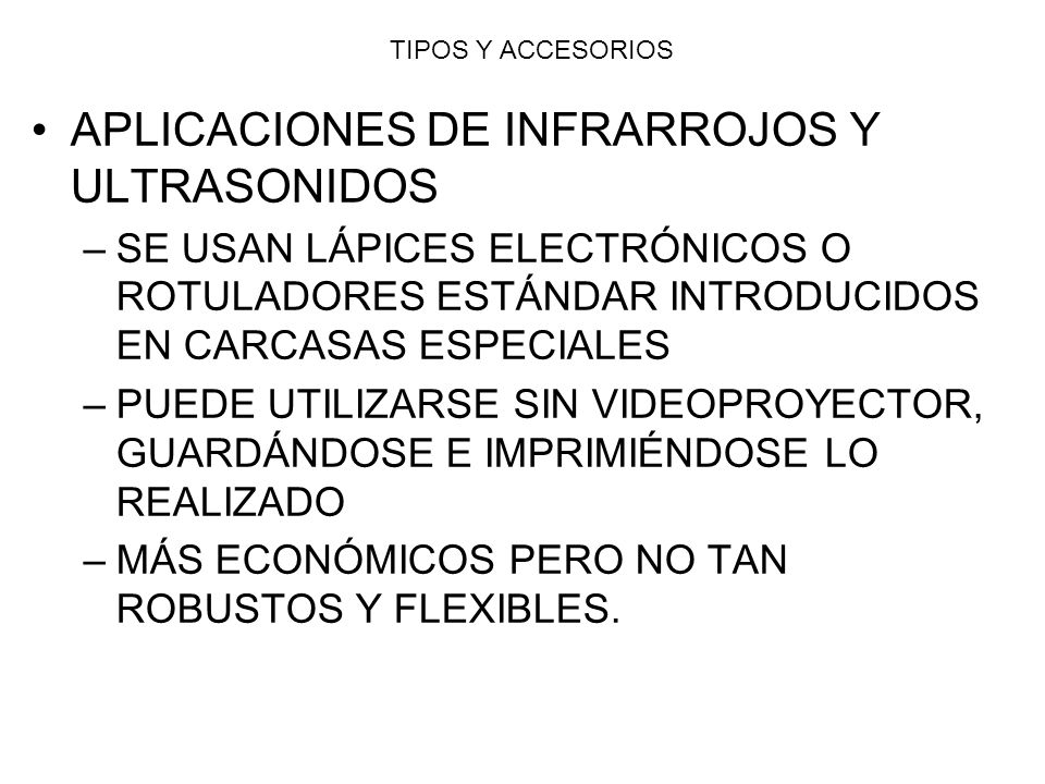 APLICACIONES DE INFRARROJOS Y ULTRASONIDOS