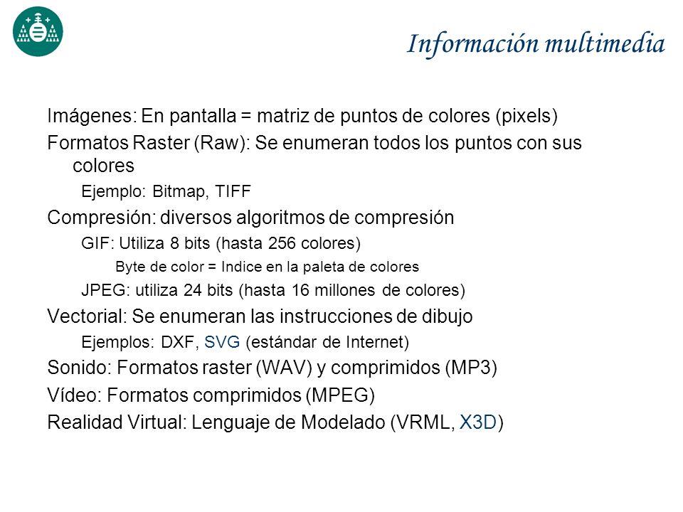 Información multimedia