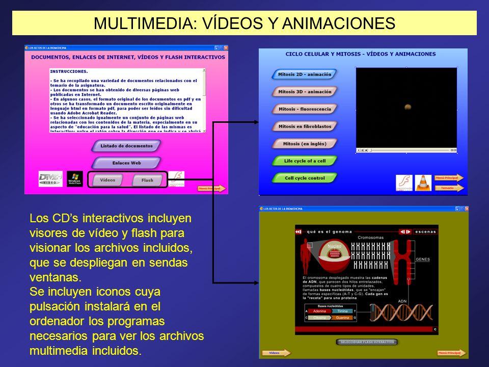 MULTIMEDIA: VÍDEOS Y ANIMACIONES