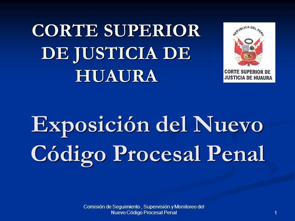 Exposición del Nuevo Código Procesal Penal
