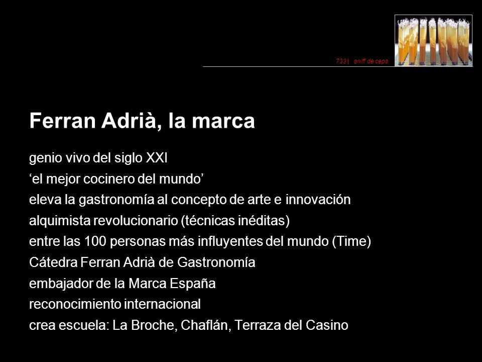 Ferran Adrià, la marca genio vivo del siglo XXI