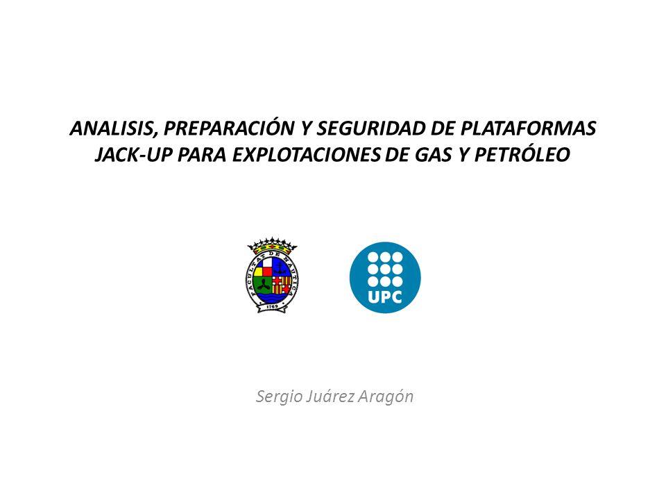 ANALISIS, PREPARACIÓN Y SEGURIDAD DE PLATAFORMAS JACK-UP PARA EXPLOTACIONES DE GAS Y PETRÓLEO