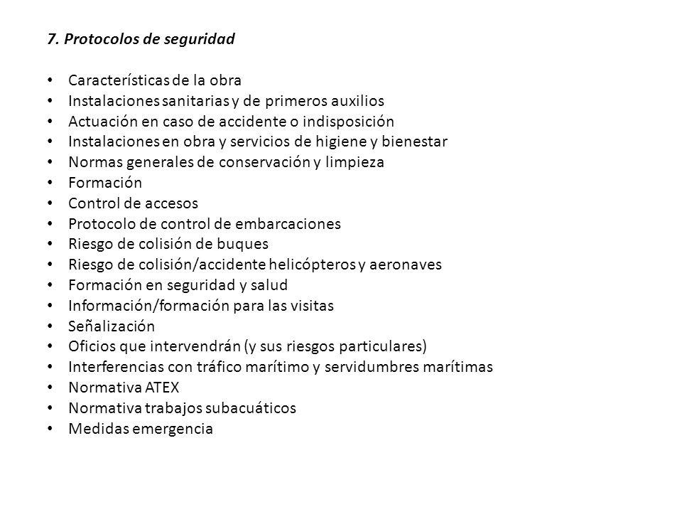 7. Protocolos de seguridad