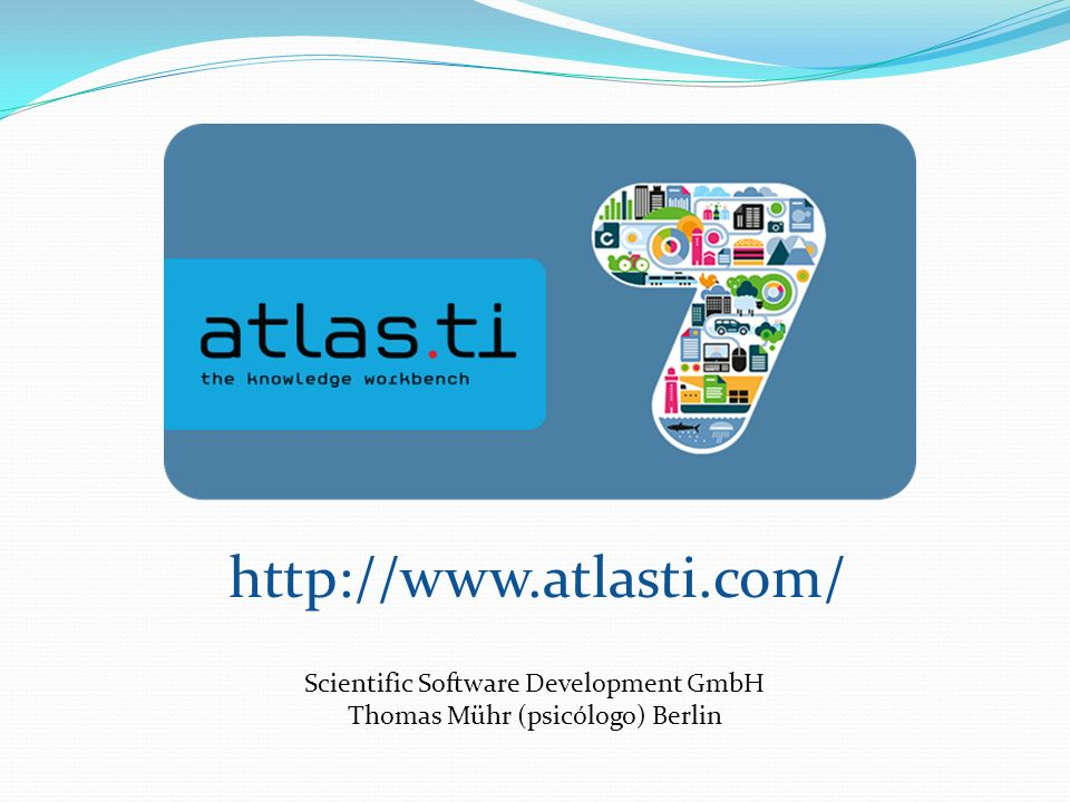 http://www.atlasti.com/ Scientific Software Development GmbH