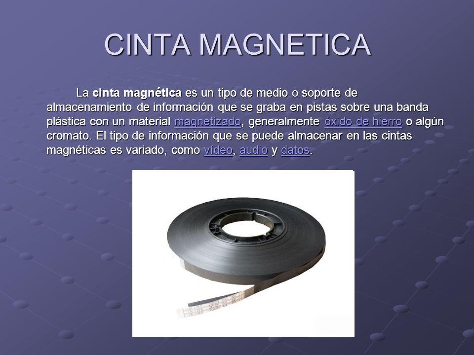 CINTA MAGNETICA