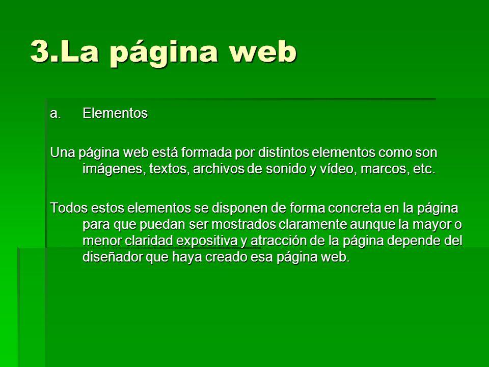 3.La página web Elementos