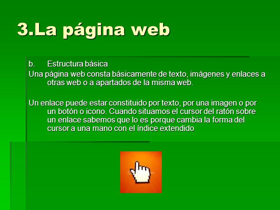 3.La página web Estructura básica