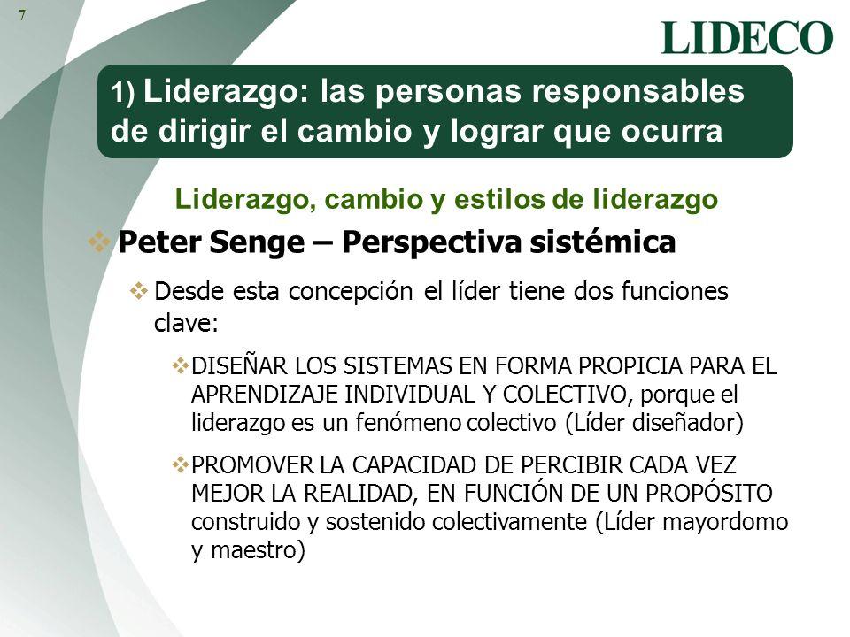 Peter Senge – Perspectiva sistémica