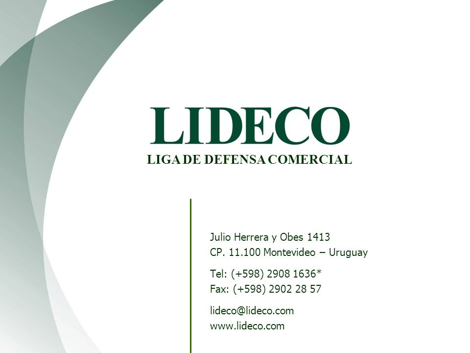 LIGA DE DEFENSA COMERCIAL