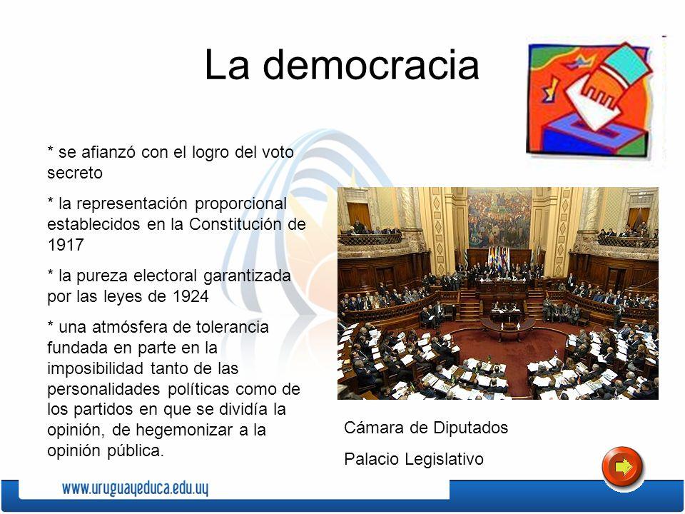 La democracia * se afianzó con el logro del voto secreto