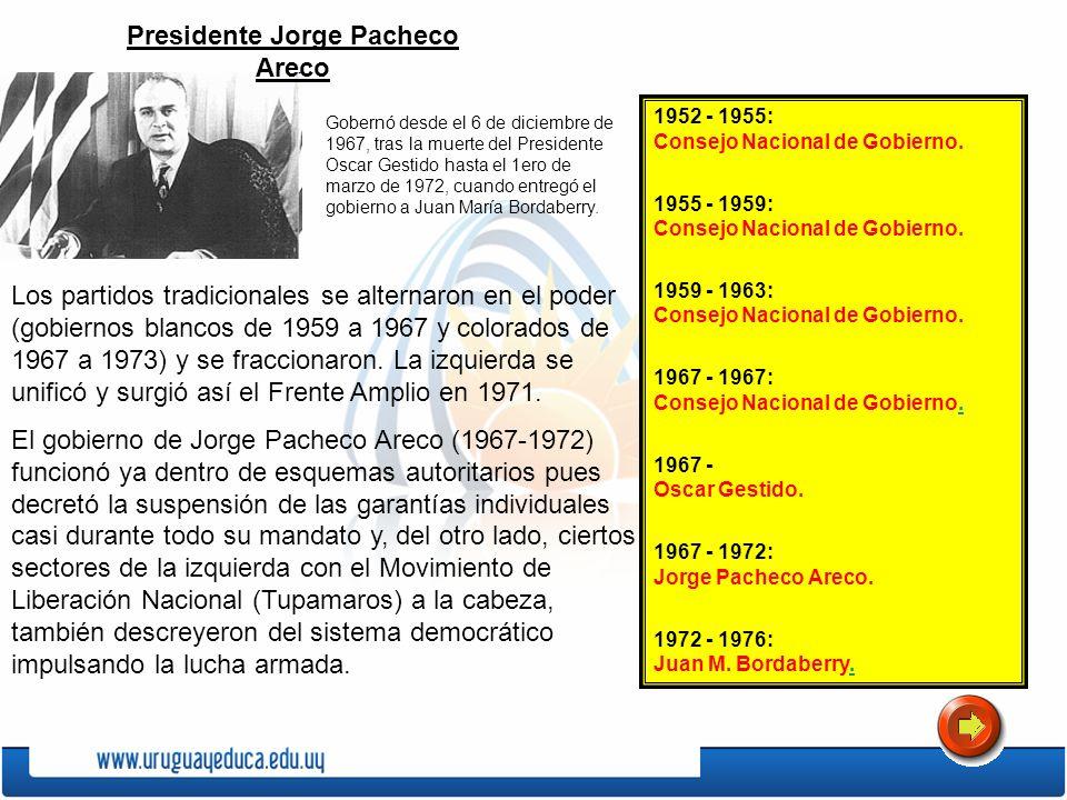 Presidente Jorge Pacheco Areco