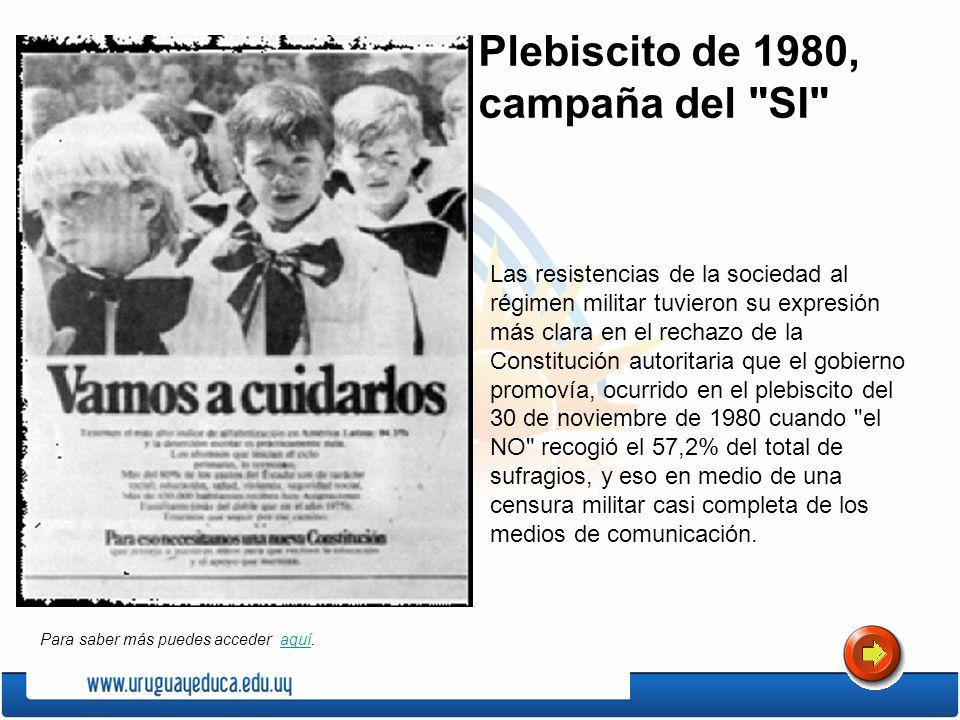 Plebiscito de 1980, campaña del SI
