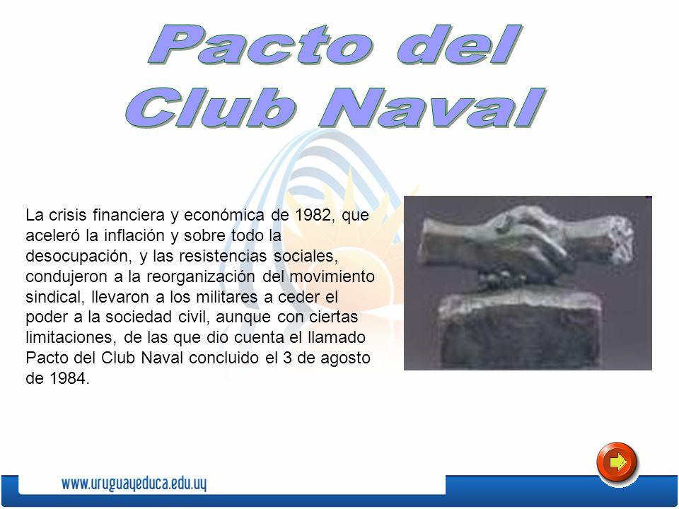 Pacto delClub Naval.