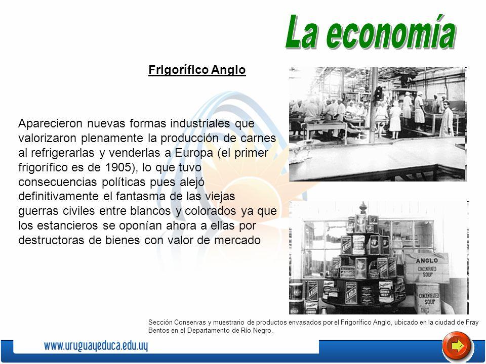 La economía Frigorífico Anglo